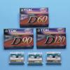 TDK Electronics Micro Cassette 60-MIN For Audio Only 3PK